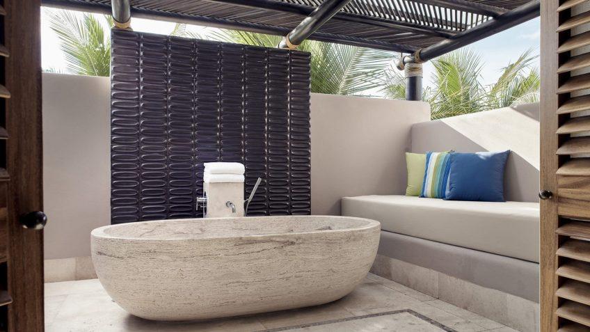 Four Seasons Luxury Resort Punta Mita - Nayarit, Mexico - Ocean View Penthouse Bathroom Tub