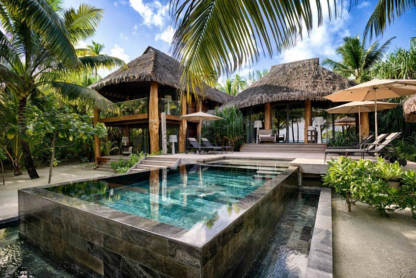 The Brando Luxury Resort - Tetiaroa Private Island, French Polynesia - 3 Bedroom Villa Exterior Pool