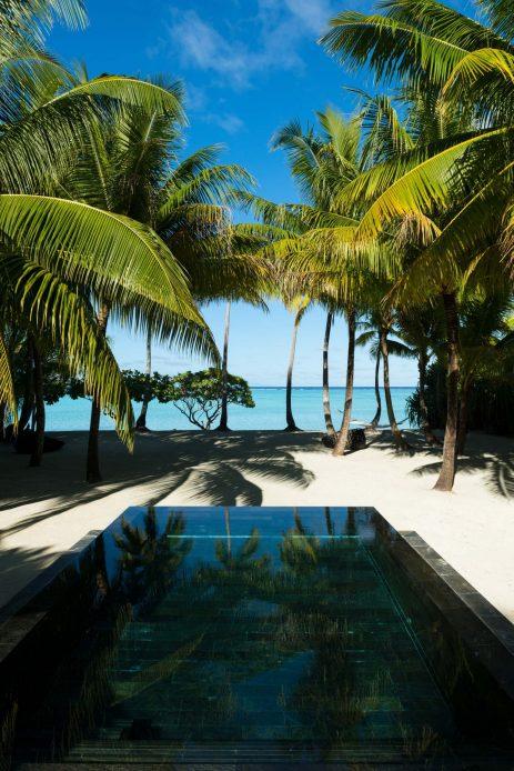 The Brando Luxury Resort - Tetiaroa Private Island, French Polynesia - 3 Bedroom Villa Exterior Pool Ocean View