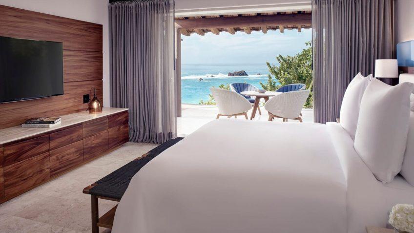 Four Seasons Luxury Resort Punta Mita - Nayarit, Mexico - Oceanfront Plunge Pool Suite Bedroom