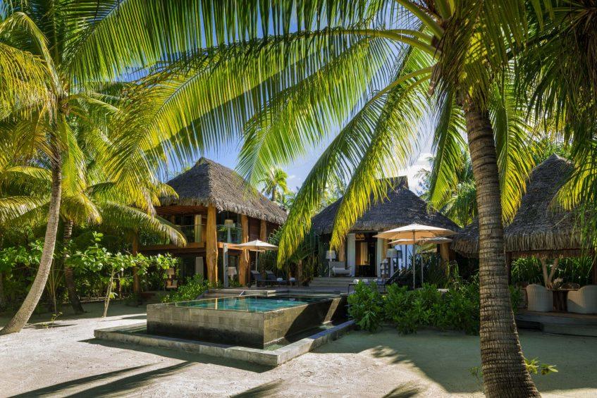 The Brando Luxury Resort - Tetiaroa Private Island, French Polynesia - 3 Bedroom Beachfront Villa Pool