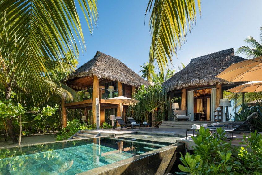 The Brando Luxury Resort - Tetiaroa Private Island, French Polynesia - 3 Bedroom Beachfront Villa Pool Deck