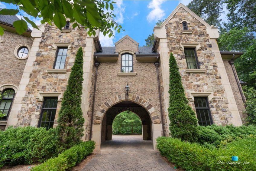 5705 Winterthur Ln, Sandy Springs, GA, USA - Atlanta Luxury Real Estate - Winterthur Estates Home - Arch