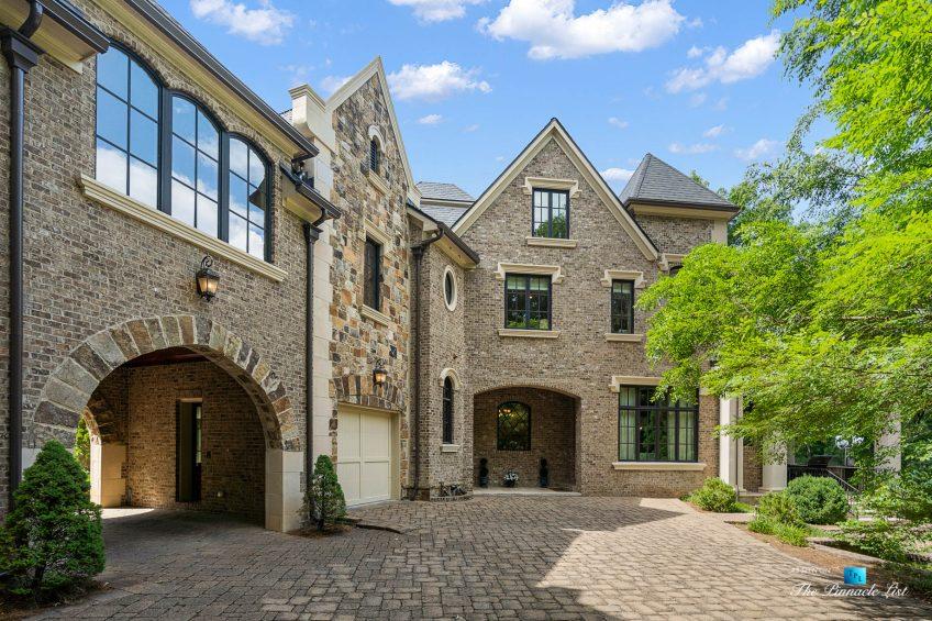 5705 Winterthur Ln, Sandy Springs, GA, USA - Atlanta Luxury Real Estate - Winterthur Estates Home - Rear Patio