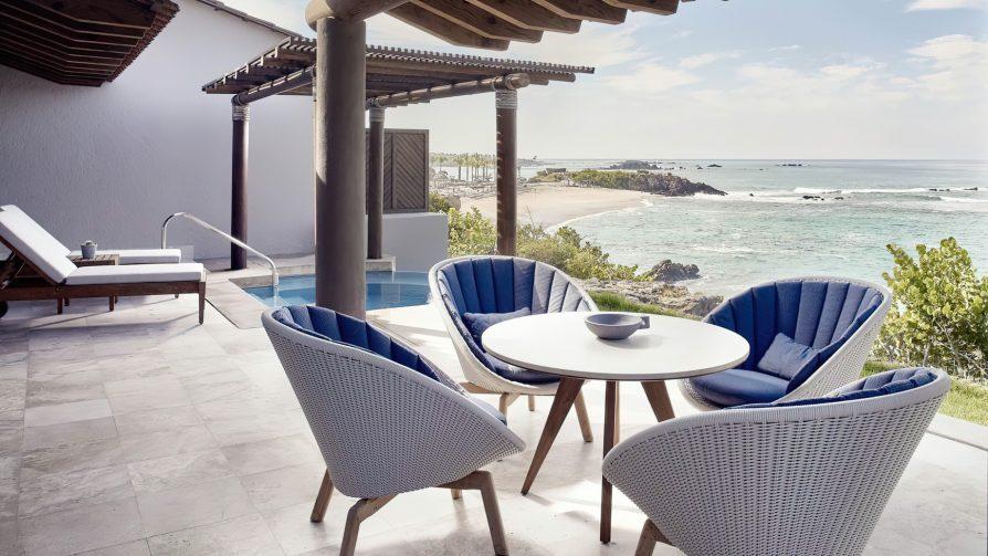 Four Seasons Luxury Resort Punta Mita - Nayarit, Mexico - Oceanfront Plunge Pool Suite Deck View