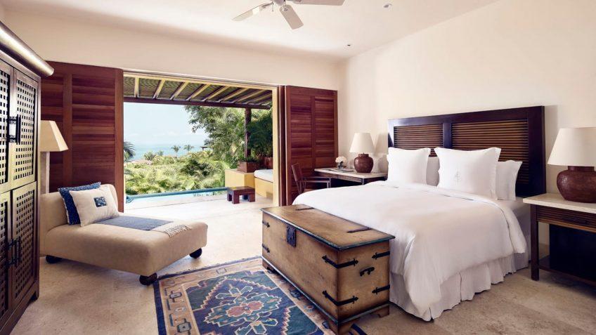 Four Seasons Luxury Resort Punta Mita - Nayarit, Mexico - Otono Ocean View Villa Bedroom