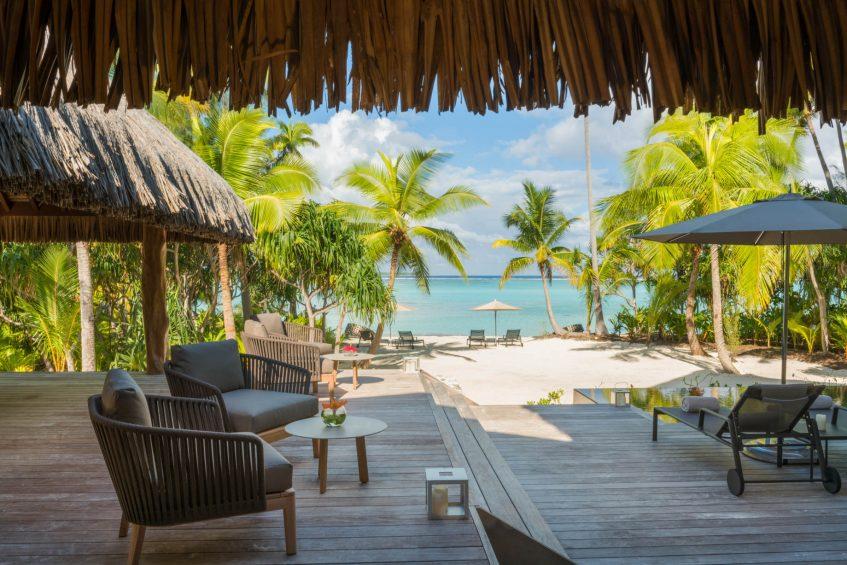 The Brando Luxury Resort - Tetiaroa Private Island, French Polynesia - The Brando Residence Beachfront Pool Deck
