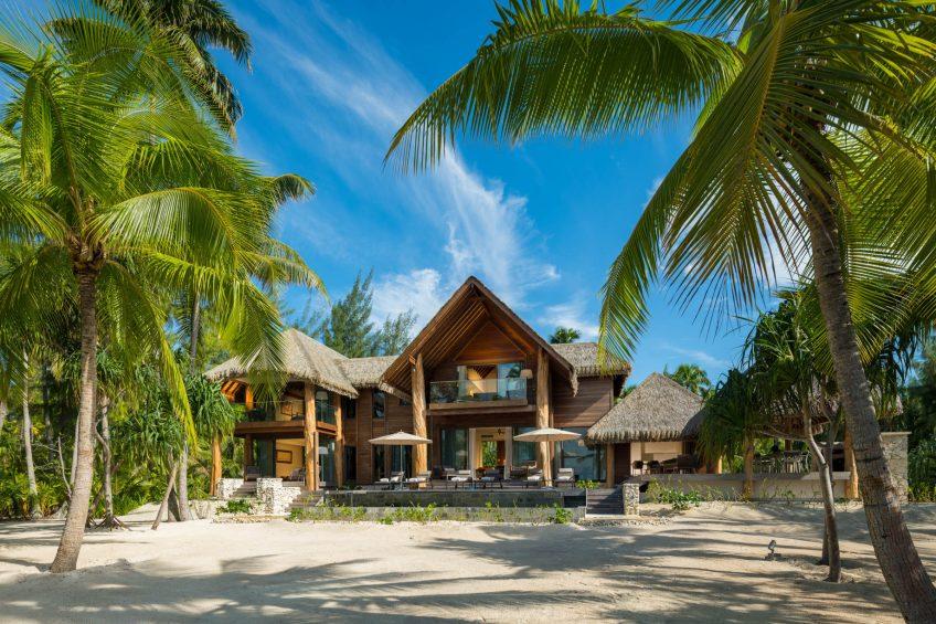 The Brando Luxury Resort - Tetiaroa Private Island, French Polynesia - The Brando Residence Beachfront