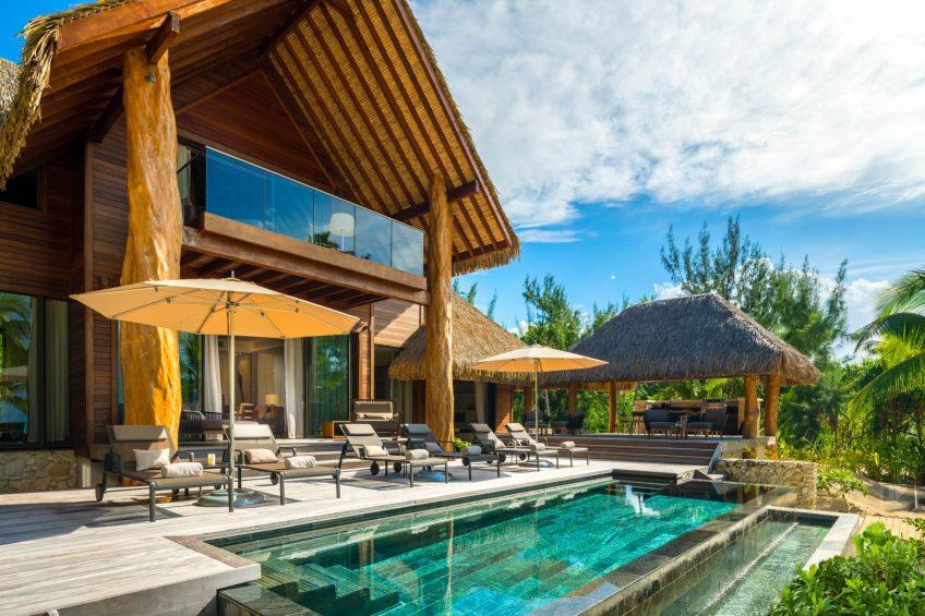 The Brando Luxury Resort - Tetiaroa Private Island, French Polynesia - The Brando Residence Pool