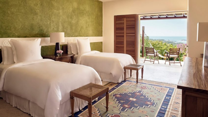 Four Seasons Luxury Resort Punta Mita - Nayarit, Mexico - Otono Ocean View Villa Twin Bedroom View