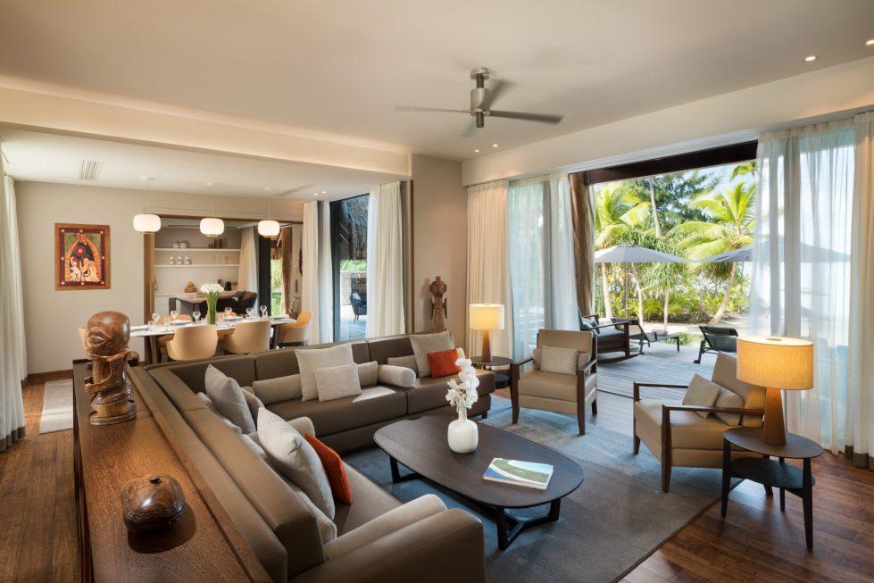 The Brando Luxury Resort - Tetiaroa Private Island, French Polynesia - The Brando Residence Living Room
