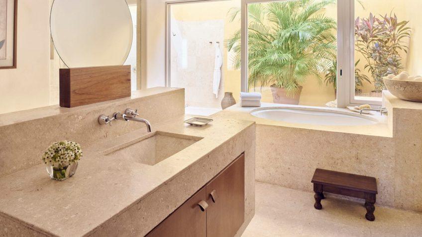 Four Seasons Luxury Resort Punta Mita - Nayarit, Mexico - Otono Ocean View Villa Bathroom