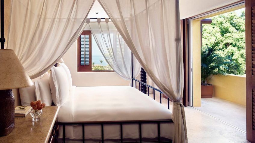 Four Seasons Luxury Resort Punta Mita - Nayarit, Mexico - Otono Ocean View Villa Master Bedroom