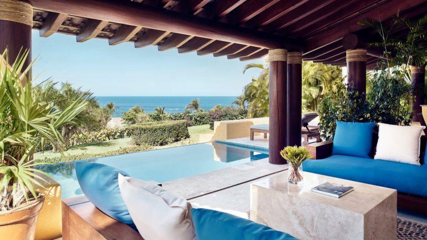 Four Seasons Luxury Resort Punta Mita - Nayarit, Mexico - Primavera Ocean View Villa Covered Pool Deck