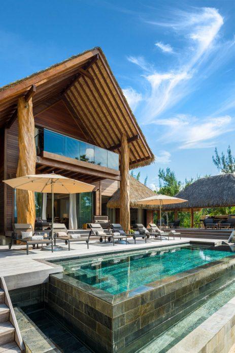 The Brando Luxury Resort - Tetiaroa Private Island, French Polynesia - The Brando Residence Pool Deck