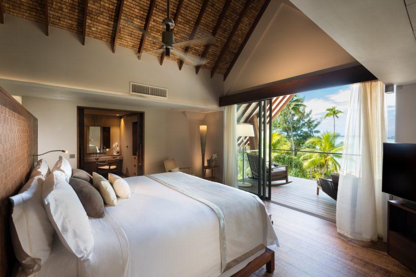 The Brando Luxury Resort - Tetiaroa Private Island, French Polynesia - The Brando Residence Master Bedroom Ocean View