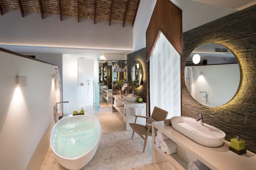 The Brando Luxury Resort - Tetiaroa Private Island, French Polynesia - The Brando Residence Master Bathroom