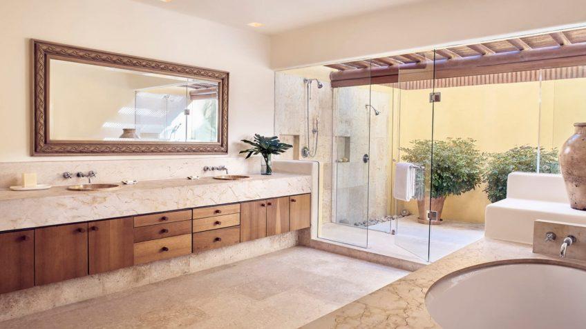 Four Seasons Luxury Resort Punta Mita - Nayarit, Mexico - Primavera Ocean View Villa Master Bathroom Shower