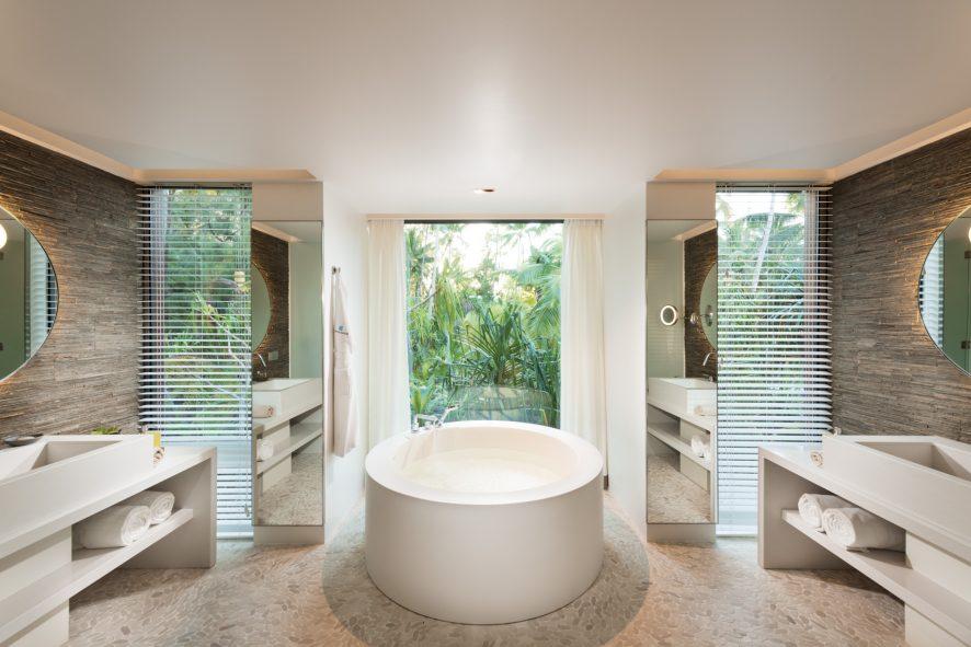 The Brando Luxury Resort - Tetiaroa Private Island, French Polynesia - The Brando Residence Bathroom Tub
