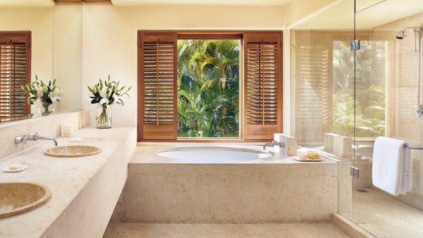Four Seasons Luxury Resort Punta Mita - Nayarit, Mexico - Primavera Ocean View Villa Master Bathroom