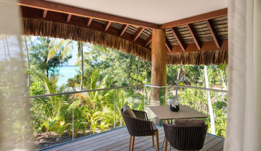 The Brando Luxury Resort - Tetiaroa Private Island, French Polynesia - The Brando Residence Bedroom Deck