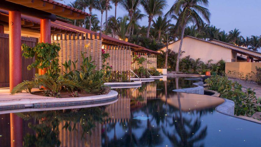 Four Seasons Luxury Resort Punta Mita - Nayarit, Mexico - Sol Oceanfront Villa Pool Sunset