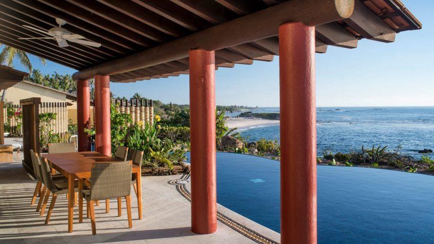 Four Seasons Luxury Resort Punta Mita - Nayarit, Mexico - Sol Oceanfront Villa Pool Deck