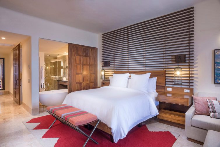 Four Seasons Luxury Resort Punta Mita - Nayarit, Mexico - Sol Oceanfront Villa Bedroom