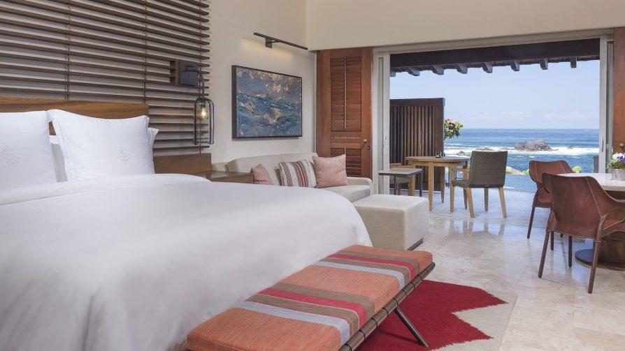 Four Seasons Luxury Resort Punta Mita - Nayarit, Mexico - Sol Oceanfront Villa Bedroom Sea View