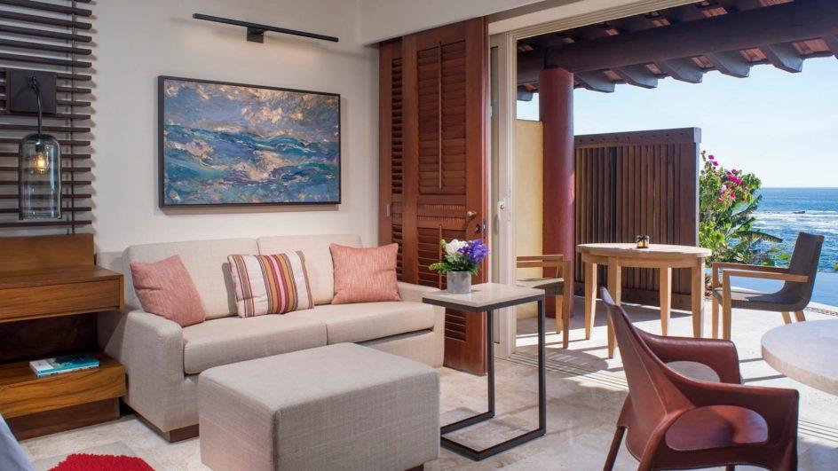 Four Seasons Luxury Resort Punta Mita - Nayarit, Mexico - Sol Oceanfront Villa Sitting Area