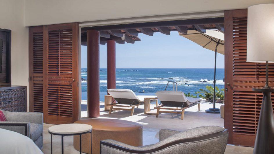 Four Seasons Luxury Resort Punta Mita - Nayarit, Mexico - Sol Oceanfront Villa Pool Deck View