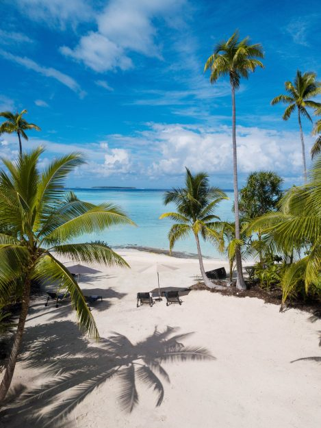 The Brando Luxury Resort - Tetiaroa Private Island, French Polynesia - The Brando Residence Beachfront View