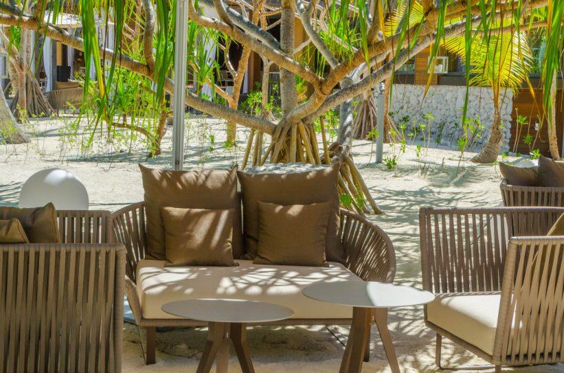 The Brando Luxury Resort - Tetiaroa Private Island, French Polynesia - Bobs Bar Outdoor Seating