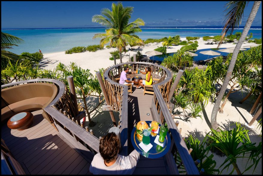 The Brando Luxury Resort - Tetiaroa Private Island, French Polynesia - Te Manu Bar Ocean View Deck
