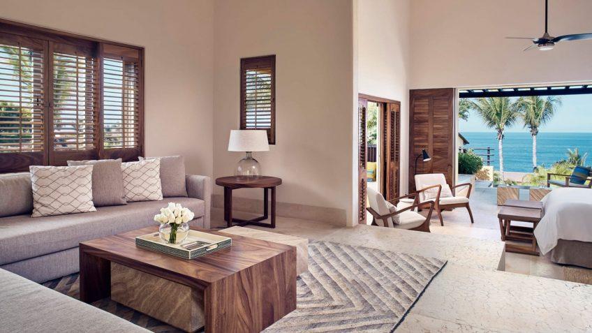 Four Seasons Luxury Resort Punta Mita - Nayarit, Mexico - Verano Ocean View Villa Living Room