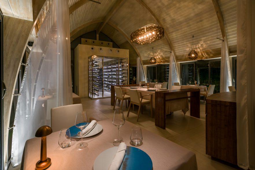 The Brando Luxury Resort - Tetiaroa Private Island, French Polynesia - Les Mutines Restaurant