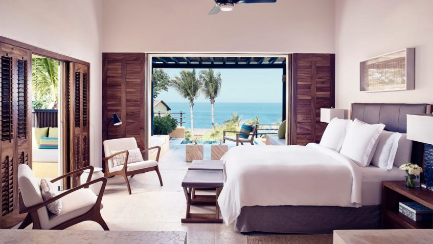 Four Seasons Luxury Resort Punta Mita - Nayarit, Mexico - Verano Ocean View Villa Master Bedroom