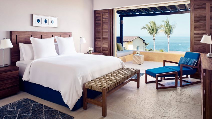 Four Seasons Luxury Resort Punta Mita - Nayarit, Mexico - Verano Ocean View Villa Bedroom