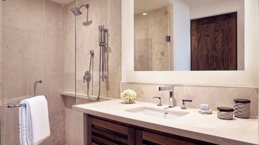 Four Seasons Luxury Resort Punta Mita - Nayarit, Mexico - Verano Ocean View Villa Bathroom Mirror