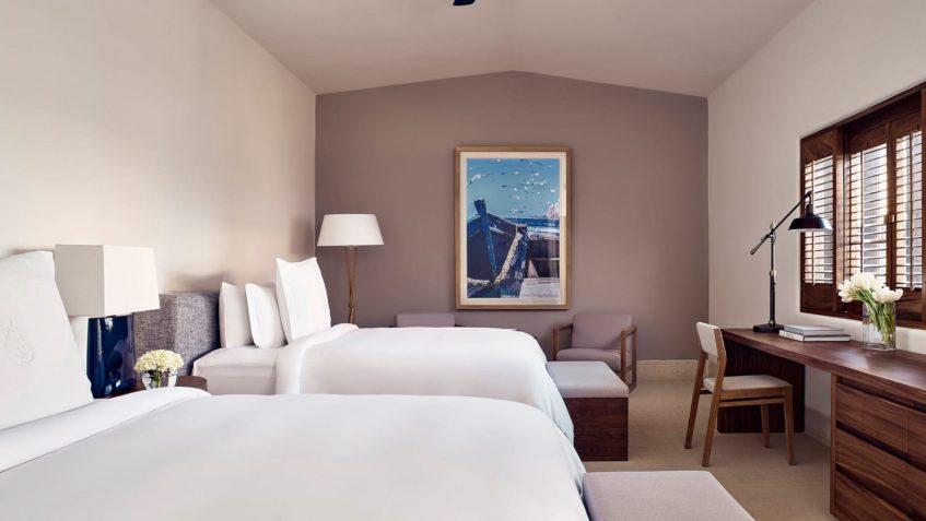 Four Seasons Luxury Resort Punta Mita - Nayarit, Mexico - Verano Ocean View Villa Twin Bedroom