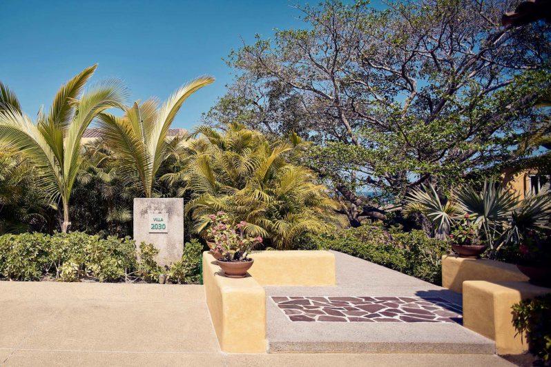 Four Seasons Luxury Resort Punta Mita - Nayarit, Mexico - Villa Exterior Entrance