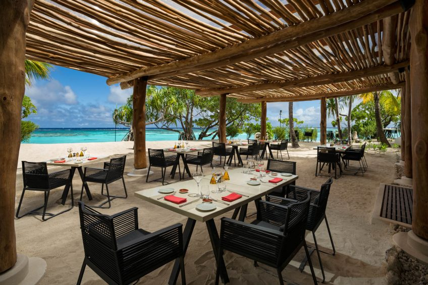 The Brando Luxury Resort - Tetiaroa Private Island, French Polynesia - Beachcomber Cafe