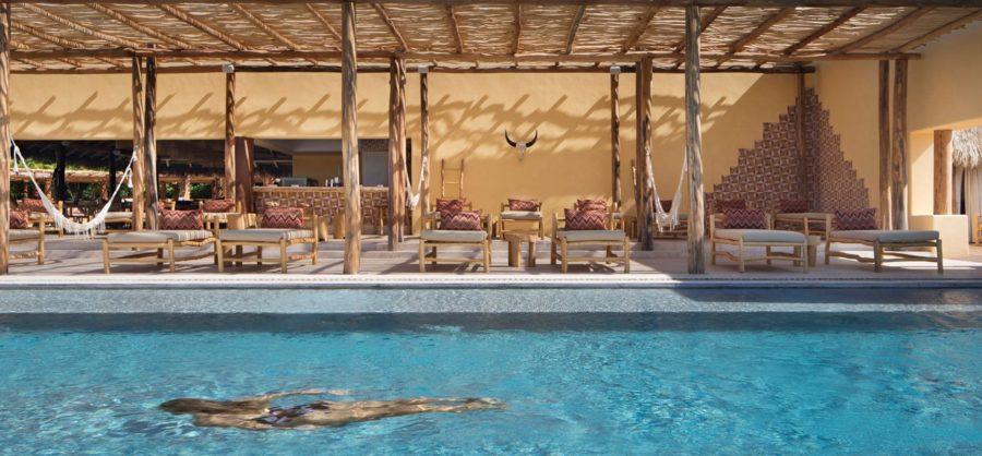 Four Seasons Luxury Resort Punta Mita - Nayarit, Mexico - Resort Pool Deck Swimming