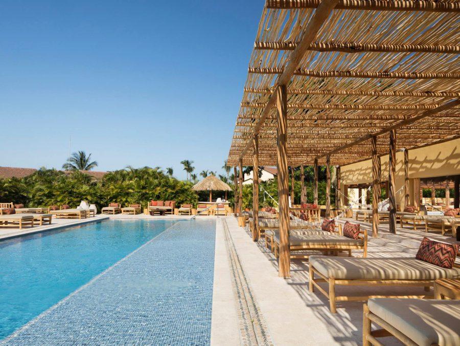 Four Seasons Luxury Resort Punta Mita - Nayarit, Mexico - Resort Pool Deck