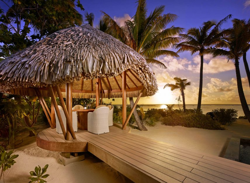 The Brando Luxury Resort - Tetiaroa Private Island, French Polynesia - Tropical Beachfront Sunset