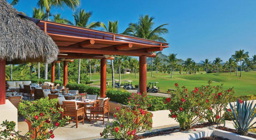 Four Seasons Luxury Resort Punta Mita - Nayarit, Mexico - Resort Golf Restaurant Patio
