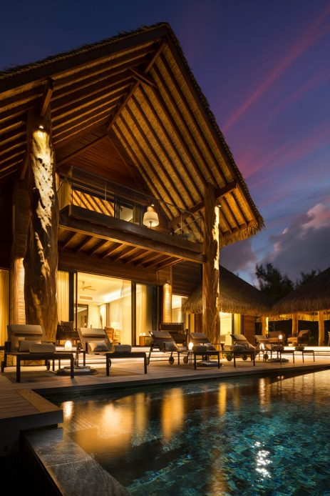 The Brando Luxury Resort - Tetiaroa Private Island, French Polynesia - The Brando Residence Sunset