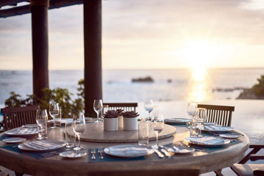 Four Seasons Luxury Resort Punta Mita - Nayarit, Mexico - Sunset Dining