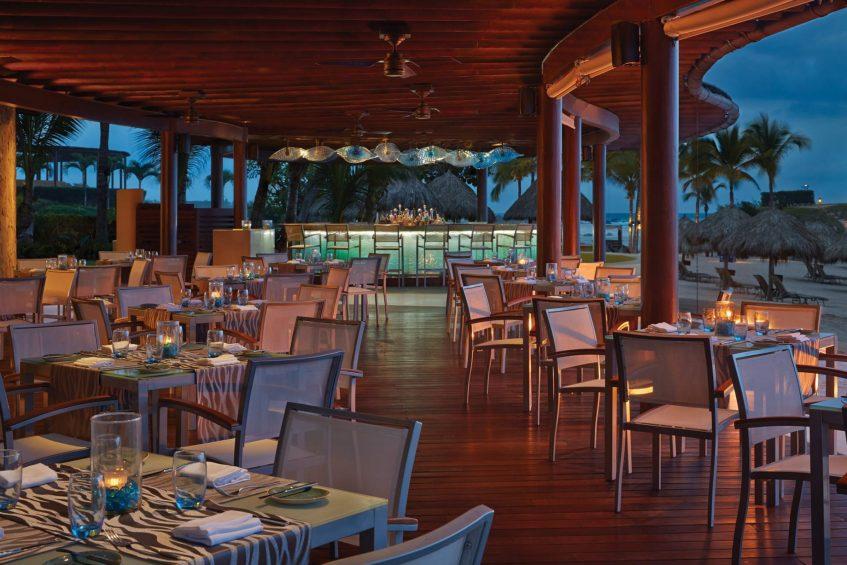 Four Seasons Luxury Resort Punta Mita - Nayarit, Mexico - Beachfront Restaurant Sunset Dining