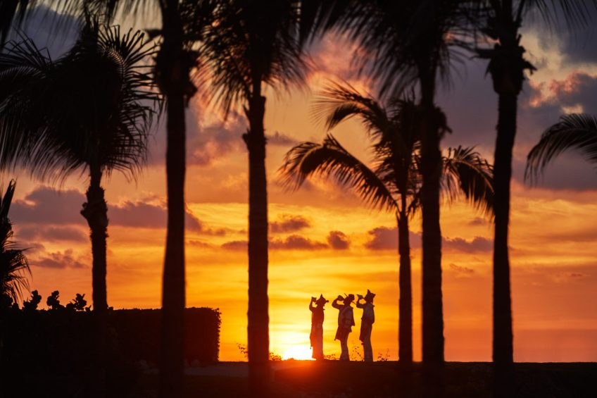 Four Seasons Luxury Resort Punta Mita - Nayarit, Mexico - Beachfront Sunset